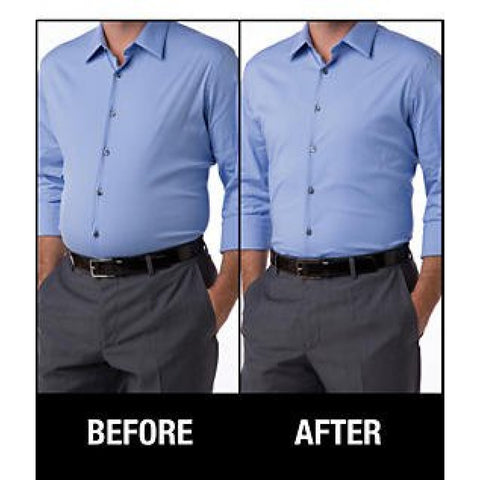 Men's Girdle before after