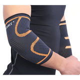 Buy the Compression Sleeve Elbow Support  Brace / M / Orange. Shop Arms Shaper Online - Kewlioo