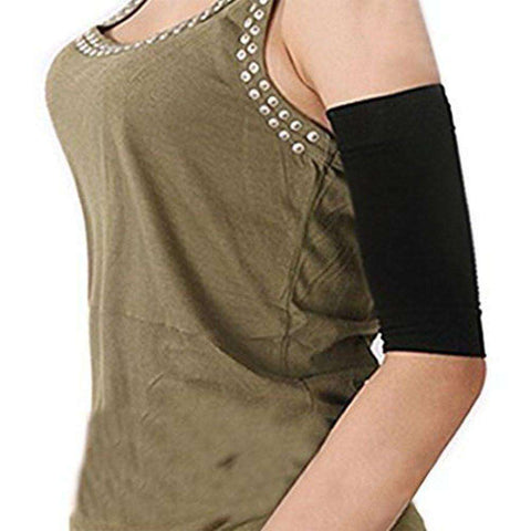Buy the Slimming Arm Shaper Sleeves - Pair / Black / One Size. Shop Weight Loss Accessories Online - Kewlioo