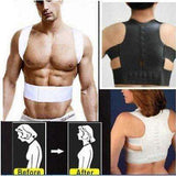 Buy the Magnetic Therapy Belt Posture Corrector / Black / M. Shop Shaper Online - Kewlioo