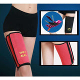 Buy the Women's Neoprene Sauna Thigh Wrap - One Piece. Shop Weight Loss Accessories Online - Kewlioo