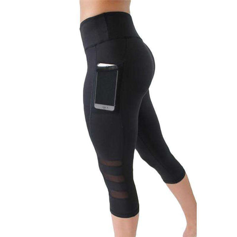 Buy the High waist Elastic women Mesh Legging. Shop Leggings Online - Kewlioo