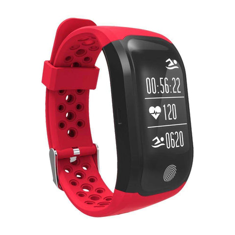 Buy the LIMITED EDITION GPS MULTI SPORT SMARTBAND / Red. Shop Smart Wristbands Online - Kewlioo
