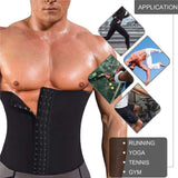 Buy the Mens Waist Shaper Belt Weight Loss Corset. Shop Shapers Online - Kewlioo