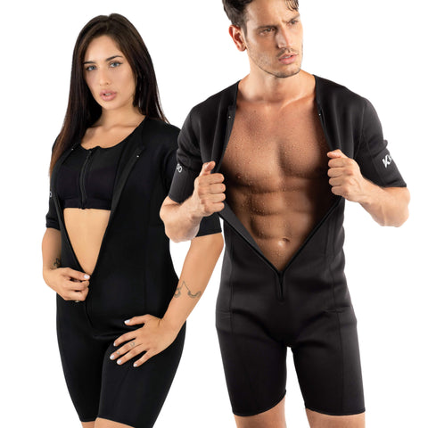 Kewlioo Neoprene Weight Loss Sauna Suit (Unisex)