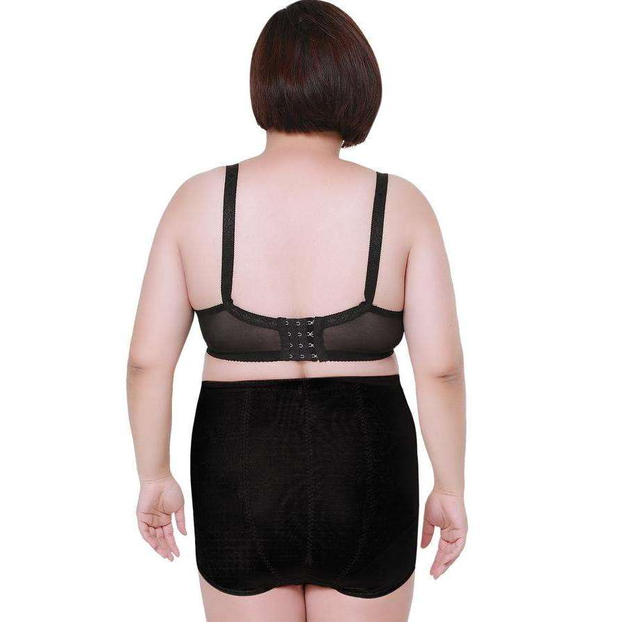 11eaba672bd Buy the High Waist Girdle Breathable Sexy Panties for Plus Size Women    Black   4XL