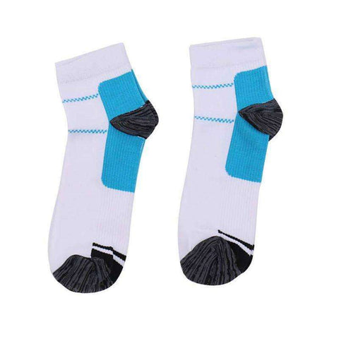 Buy the Heel Arch Pain Relieving Compression Sport Socks / For men. Shop Socks Online - Kewlioo
