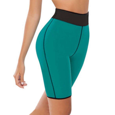 Buy the Women's Hot Body Slimming Shorts / Blue / S. Shop Weight loss pants Online - Kewlioo