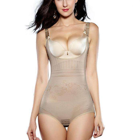 Buy the Post-Partum Recovery Shaper Bodysuit / Beige / XS. Shop Shaper Online - Kewlioo
