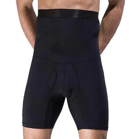 Buy the Men's Girdle Compression Shorts / Black / M. Shop Compression Shorts Online - Kewlioo
