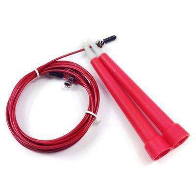 Buy the High Speed Aerobic Steel Wire Fitness Skipping Rope / Red. Shop Jump Ropes Online - Kewlioo