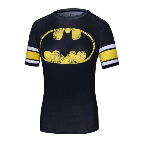 Buy the Classic Women's Batman Superhero Short-Sleeve Compression T-Shirt. Shop Compression Shirts Online - Kewlioo