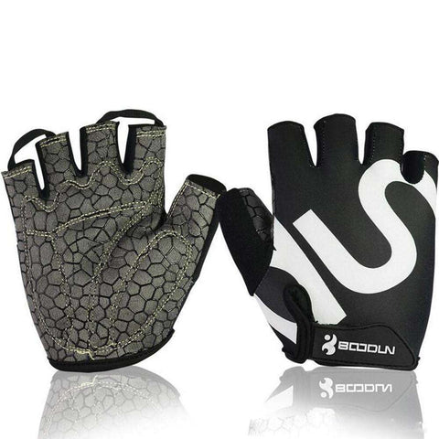 Buy the Queshark Unisex Body Building Gym Gloves / Black / L. Shop Gym Gloves Online - Kewlioo