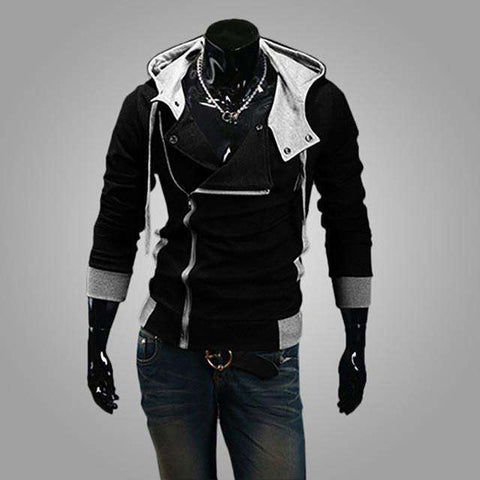 Buy the Cool Assassin's Creed Jacket / Black / 4XL. Shop Sweatshirts Online - Kewlioo