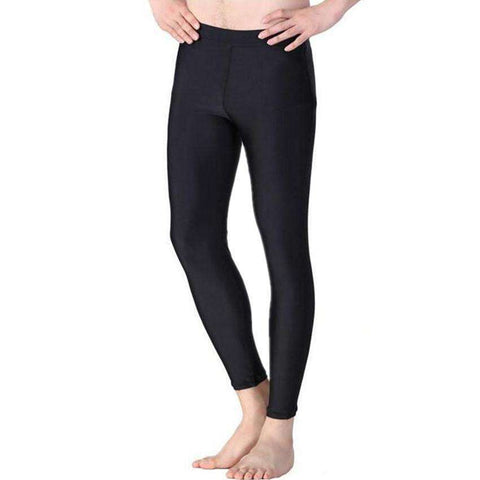 Buy the Men's Weight Loss Neoprene Long Sauna Pants / Black / S. Shop Weight loss pants Online - Kewlioo