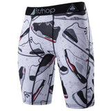 Buy the Men's Animal Compression Shorts / Shoes / S. Shop Compression Shorts Online - Kewlioo