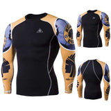 Buy the Men's Blackout Long-Sleeve Compression Shirt. Shop Compression Shirts Online - Kewlioo