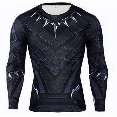 Buy the Captain America Winter Soldier Long Sleeve Compression Shirt / Captain America / S. Shop Compression Shirts Online - Kewlioo