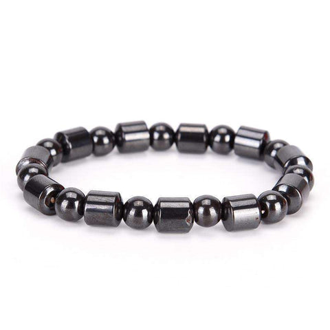 Buy the Weight Loss Black Stone Magnetic Therapy Bracelet. Shop Accessories Online - Kewlioo