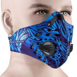 Buy the PERFORMANCE ACTIVATED CARBON TRAINING MASK / Blue. Shop Cycling Face Mask Online - Kewlioo