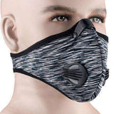 Buy the PERFORMANCE ACTIVATED CARBON TRAINING MASK / Grey. Shop Cycling Face Mask Online - Kewlioo