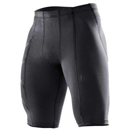 Buy the Quick-Drying Compression Shorts For Men / Black / S. Shop Compression Shorts Online - Kewlioo