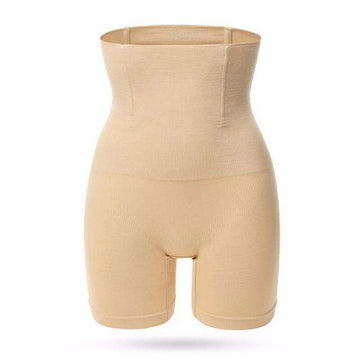 Buy the Women High Waist Thigh and Tummy Slimming Shorts / skin / S. Shop Control Panties Online - Kewlioo