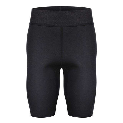 Buy the Sauna Sweat Fitness Slimming Men Shorts Body Shaper / S. Shop Shapers Online - Kewlioo