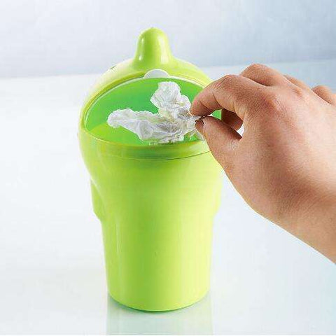 Buy the Mini Car Trash Bin 0.8L / Green. Shop Car Gadgets Online - Kewlioo