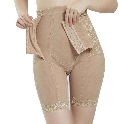 Buy the Slimming Underwear Body Shaper / Khaki / M. Shop Shapewear Online - Kewlioo