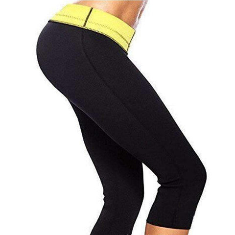 Buy the Women's Neoprene Weight Loss Slimming Pants. Shop Weight loss pants Online - Kewlioo