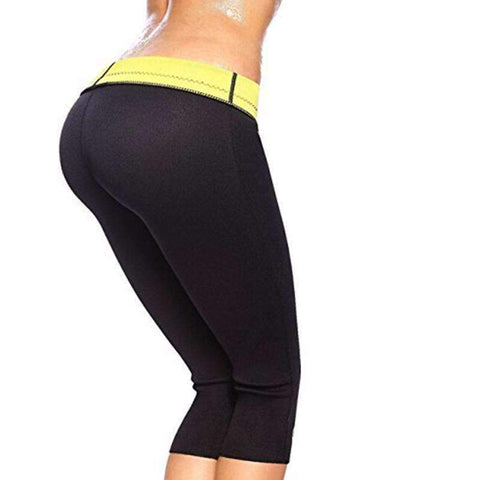 Buy the Women's Neoprene Weight Loss Slimming Pants / Black / S. Shop Weight loss pants Online - Kewlioo