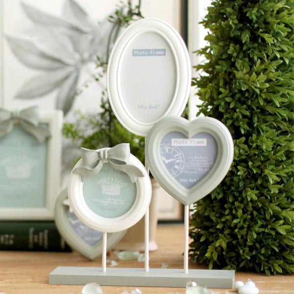 Cinderalla Series White Photo Frame