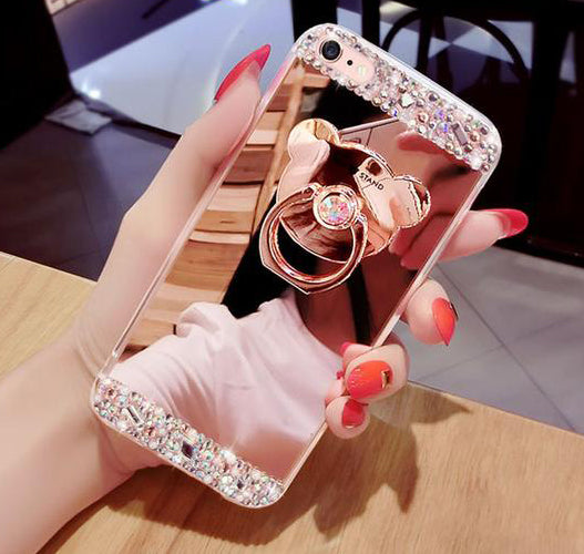 Diamond Crystal back Case For iPhone