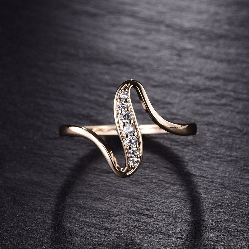 Women Rings Gold-Color