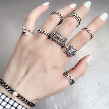 Sterling Silver Mix Match Rings