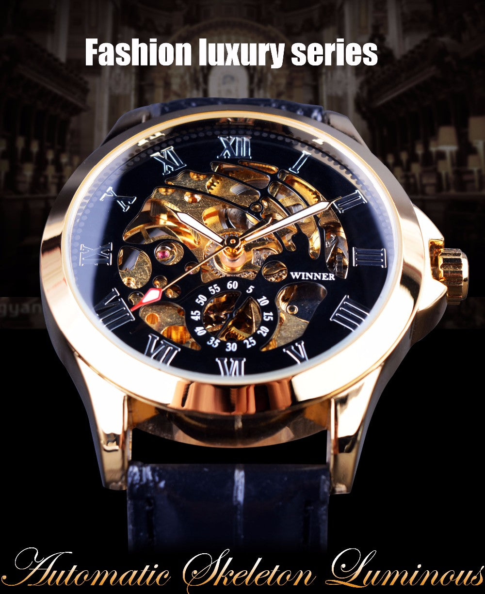 Luxury Automatic Wristwatch