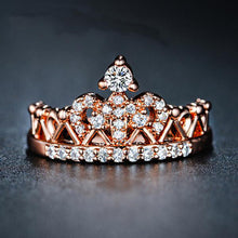 Anillos Rose Gold Crown Rings