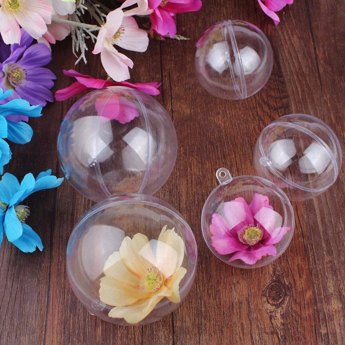 Clear Acrylic Craft Balls