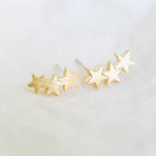 Three Star Fashion Earrings