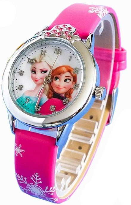 Princess Elsa Crystal Wristwatch