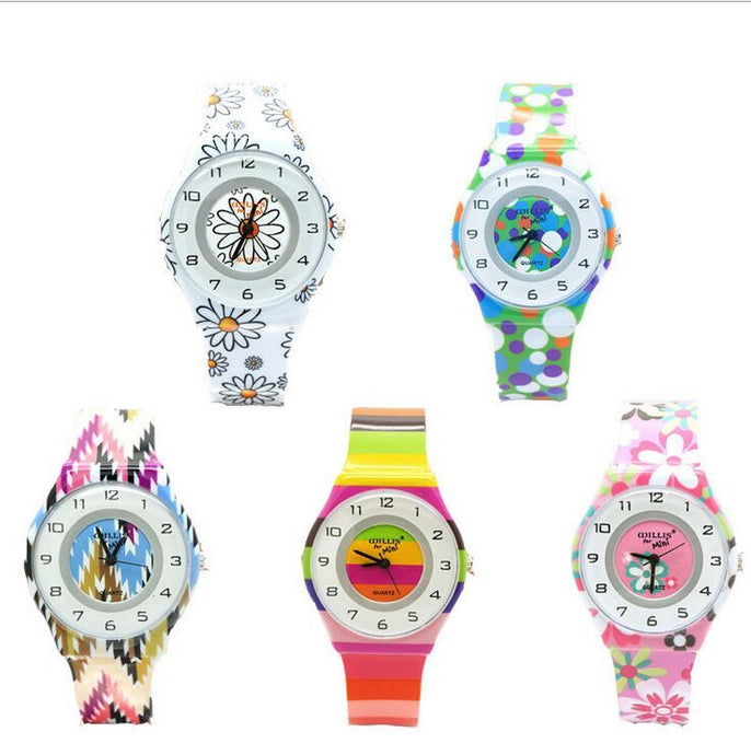 Cute Floral Watch