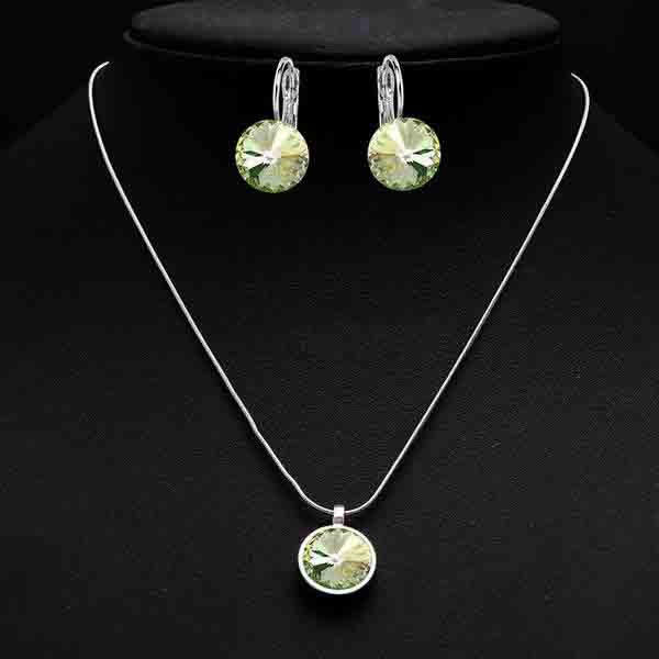 Crystal Necklace Earrings Sets