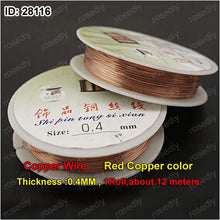 Jewelry Copper Cords
