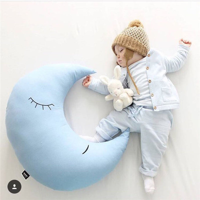 Blue Moon Soft Plush Pillow