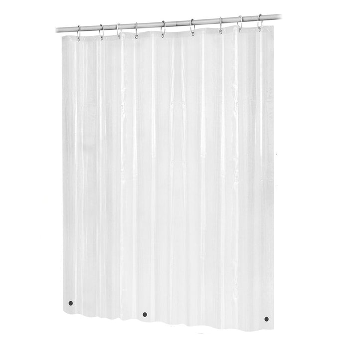 Clear Non Toxic Mold Resistant Shower Curtain