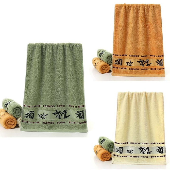 Bamboo Design Soft Towel