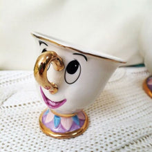 Chip Cup Teacup Coffee