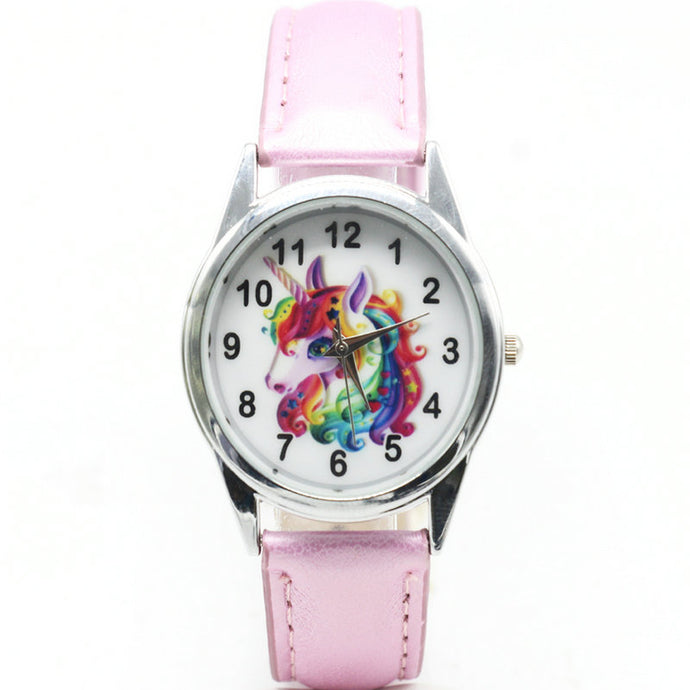 Cute Unicorn Kids Watch