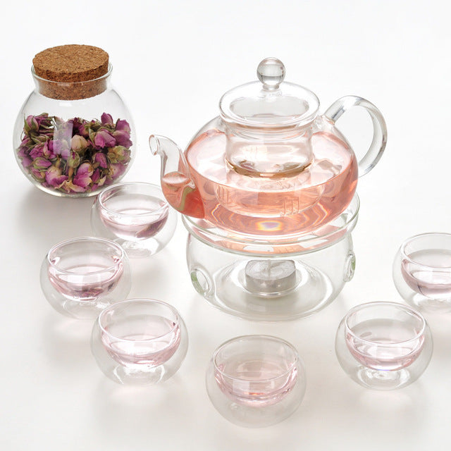 Heat-resistant Glass Teapot